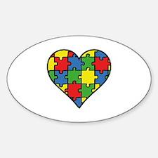 Autism Puzzle Decal