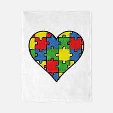 Autism Puzzle Twin Duvet