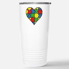 Autism Puzzle Travel Mug