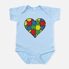 Autism Puzzle Infant Bodysuit