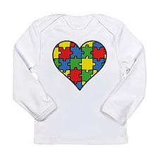 Autism Puzzle Long Sleeve Infant T-Shirt