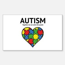 Autism - Together we can solve the puzzle Decal