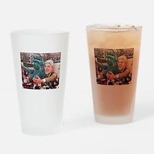 Clinton Politics Drinking Glass