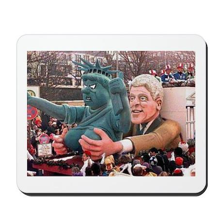 Clinton Politics Mousepad