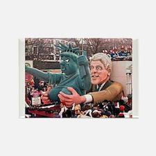 Clinton Politics Rectangle Magnet