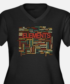 Chemical Elements Plus Size T-Shirt