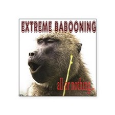 Extreme Babooning Sticker