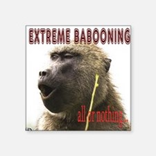 Extreme Babooning Sticker