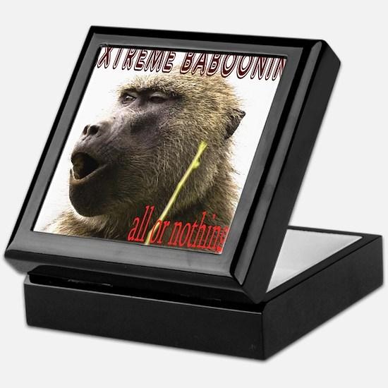 Extreme Babooning Keepsake Box