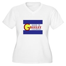 MADE IN GREELEY Plus Size T-Shirt