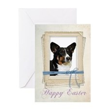 Corgi Easter Card