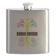 Roots Reggae Designs-2 Flask