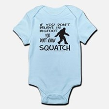 YOU DON'T KNOW SQUATCH Infant Bodysuit