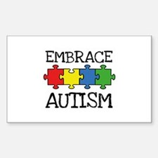 Embrace Autism Decal