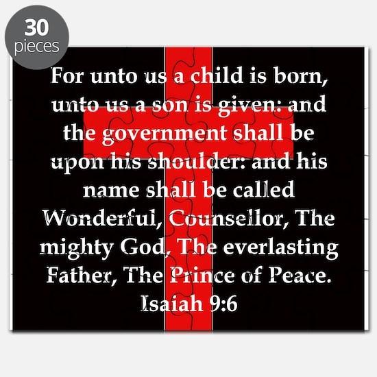 Isaiah 9:6 Puzzle