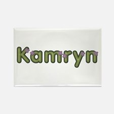 Kamryn Spring Green Rectangle Magnet