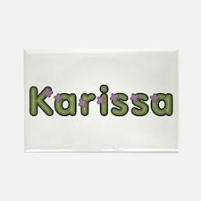 Karissa Spring Green Rectangle Magnet