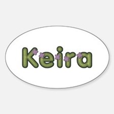 Keira Spring Green Oval Decal