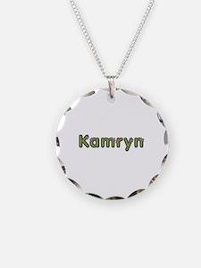 Kamryn Spring Green Necklace