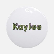 Kaylee Spring Green Round Ornament