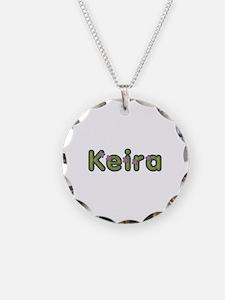Keira Spring Green Necklace