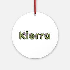 Kierra Spring Green Round Ornament