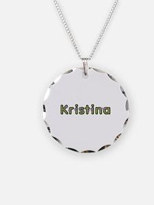 Kristina Spring Green Necklace