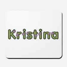 Kristina Spring Green Mousepad