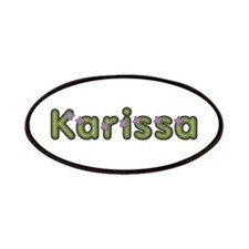 Karissa Spring Green Patch
