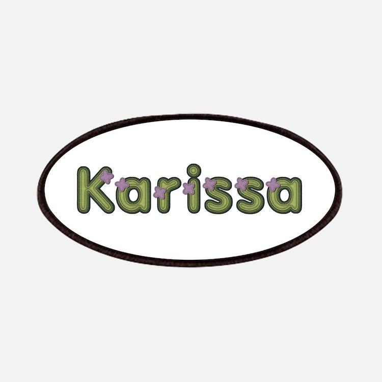 Karissa Spring Green Patch