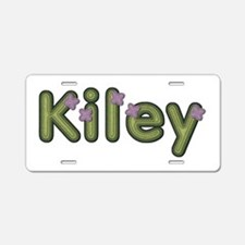 Kiley Spring Green Aluminum License Plate