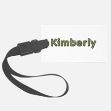 Kimberly Spring Green Luggage Tag