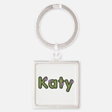 Katy Spring Green Square Keychain