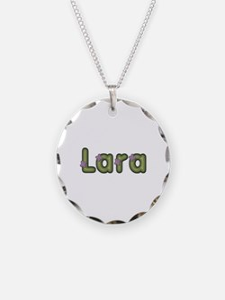 Lara Spring Green Necklace