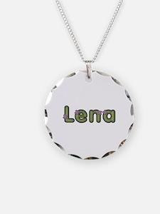 Lena Spring Green Necklace
