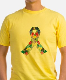 Autism Awareness Ribbon T