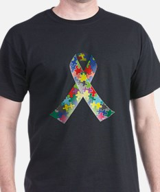 Autism Awareness Ribbon T-Shirt