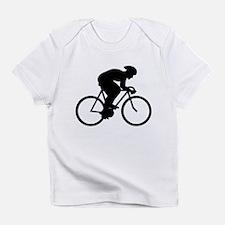 Cyclist Silhouette. Infant T-Shirt