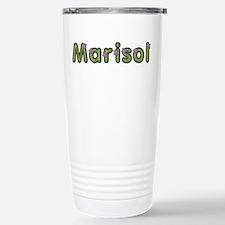 Marisol Spring Green Stainless Steel Travel Mug