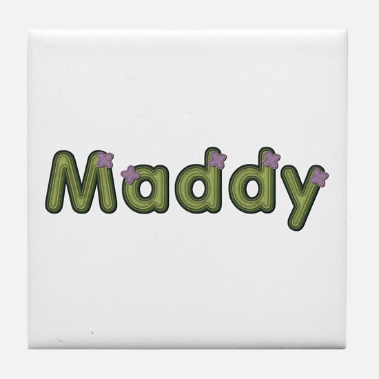 Maddy Spring Green Tile Coaster