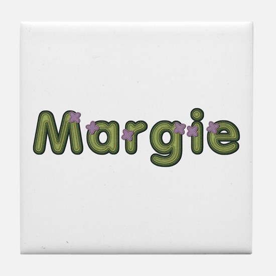 Margie Spring Green Tile Coaster