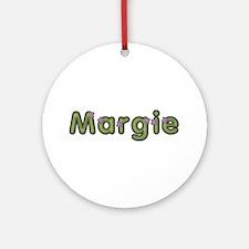 Margie Spring Green Round Ornament