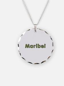 Maribel Spring Green Necklace