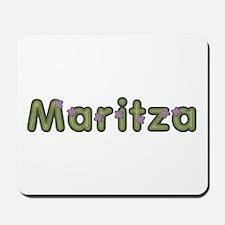 Maritza Spring Green Mousepad