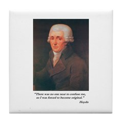 Haydn Tile Coaster