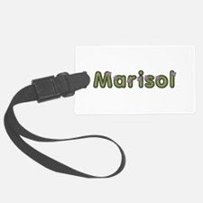 Marisol Spring Green Luggage Tag