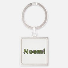 Noemi Spring Green Square Keychain
