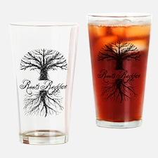 Roots Reggae Designs-7 Drinking Glass