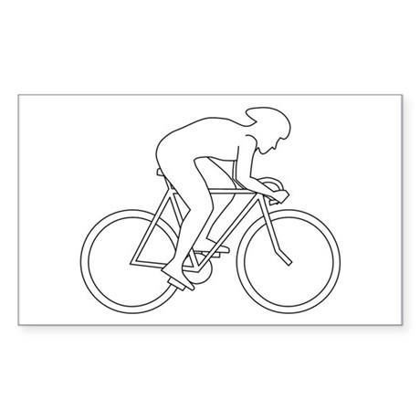 Cycling Design. Sticker