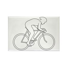 Cycling Design. Rectangle Magnet